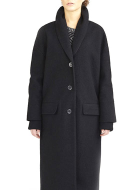 Coat Memphis Black - Langerchen