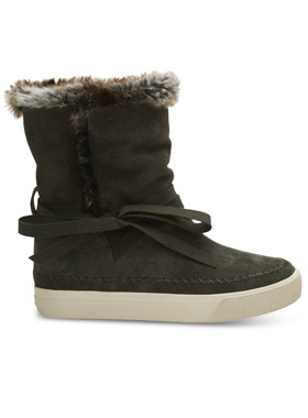 Forest Waterproof Suede - Toms