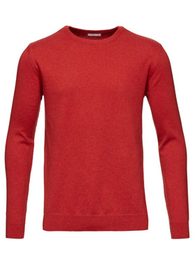 Pompeain Red - Knowlegde Cotton Apparel