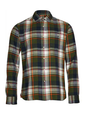 Men_Overhemd_Checked Shirt_Knowledge Cotton Apparel