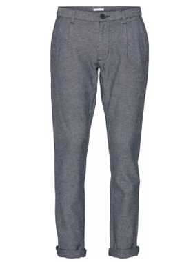 Knowledge Cotton Apparel - Chuck Twill pleated pants