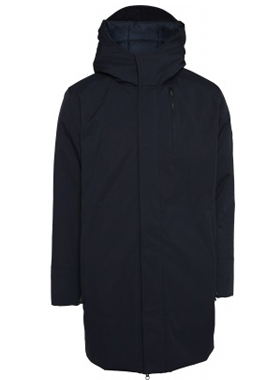 Knowledge Cotton Apparel - Long soft shell jacket