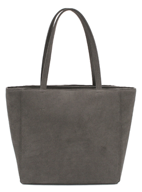 Denise Roobol - Maxi Bag Grey Vegan